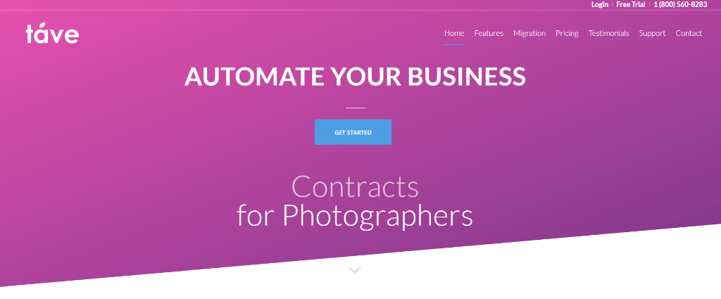 Tave Photography Studio Management Software