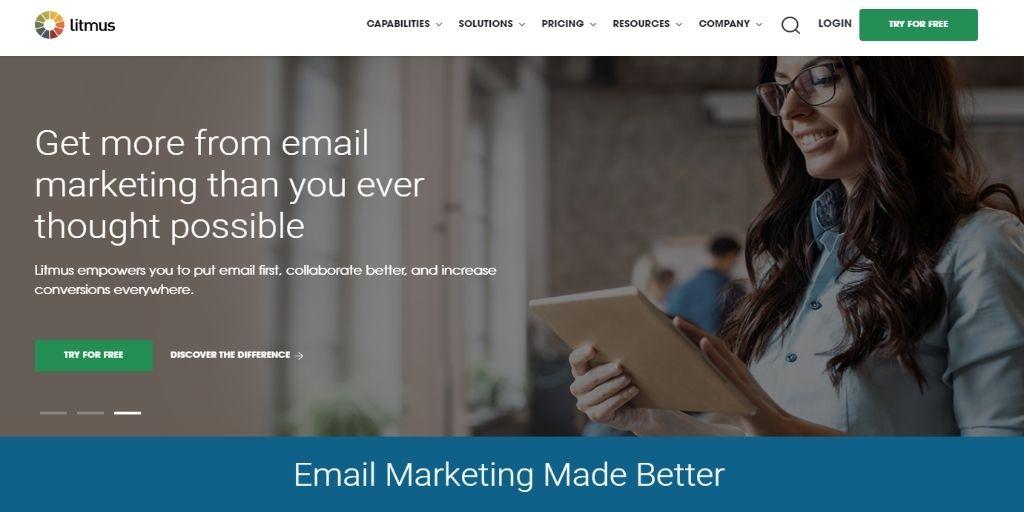 litmus email marketing tool