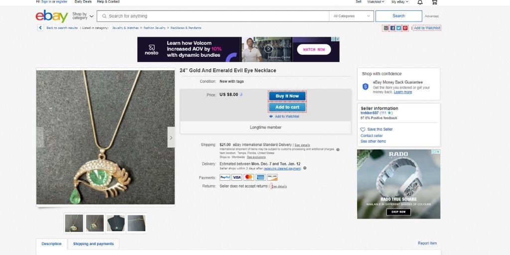 sell jewelry online ebay