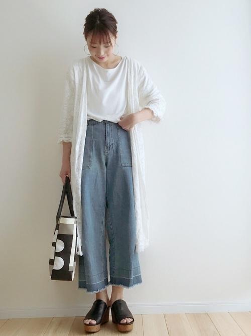 日本女生不用露腿的夏日時尚!先學會牛仔寬褲的百變穿搭法 | | 美人計 | 妞新聞 niusnews