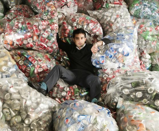 Conrad Cutler has built an empire on recycling cans in New York City for  huge profits. But he's putting a dent in city revenue