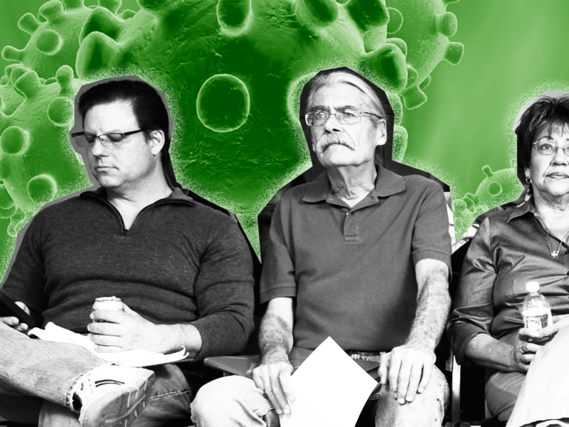 Virus cases surging among the young, endangering the elderly