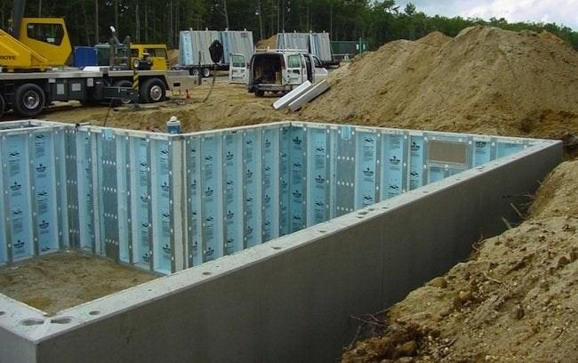 Pre Cast Foundation Systems Bob Vila   Precast Concrete Basement Steps Near Me   Basement Ideas   Concrete Slab   Basement Entrance   Bilco Doors   Walkout Basement