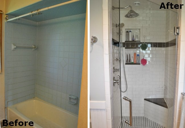 Small Bathroom remodeling - Shower