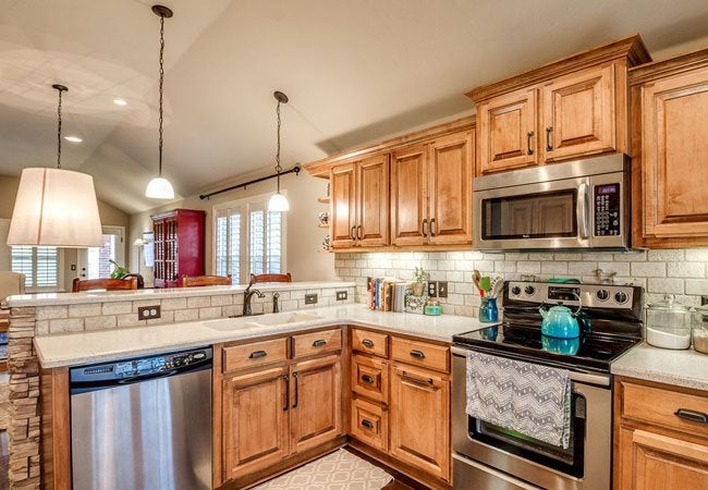 How To Refinish Pecan Kitchen Cabinets