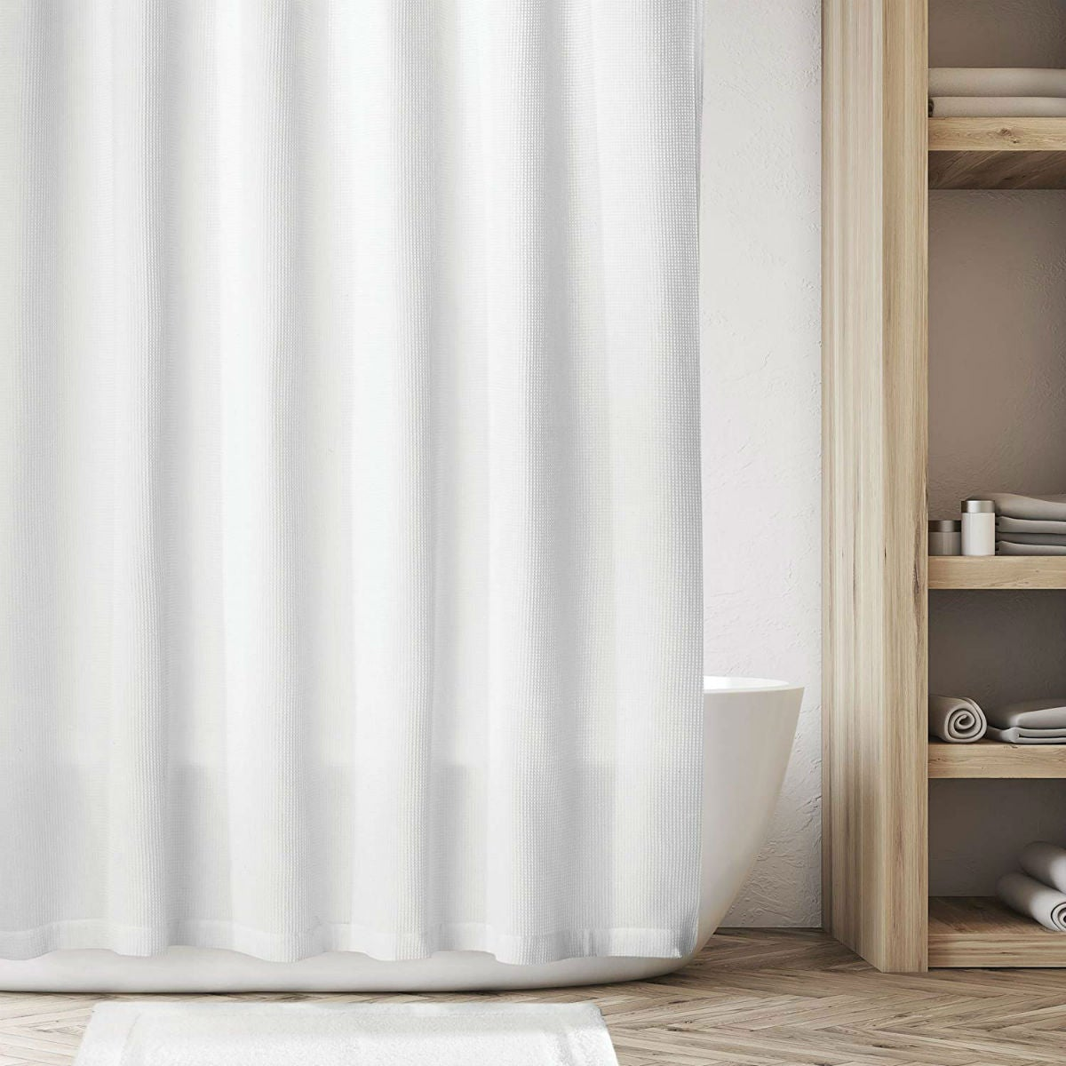 The 6 Best Shower Curtains According To Happy Homeowners