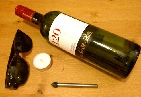 How to Cut Wine Bottles - Materials