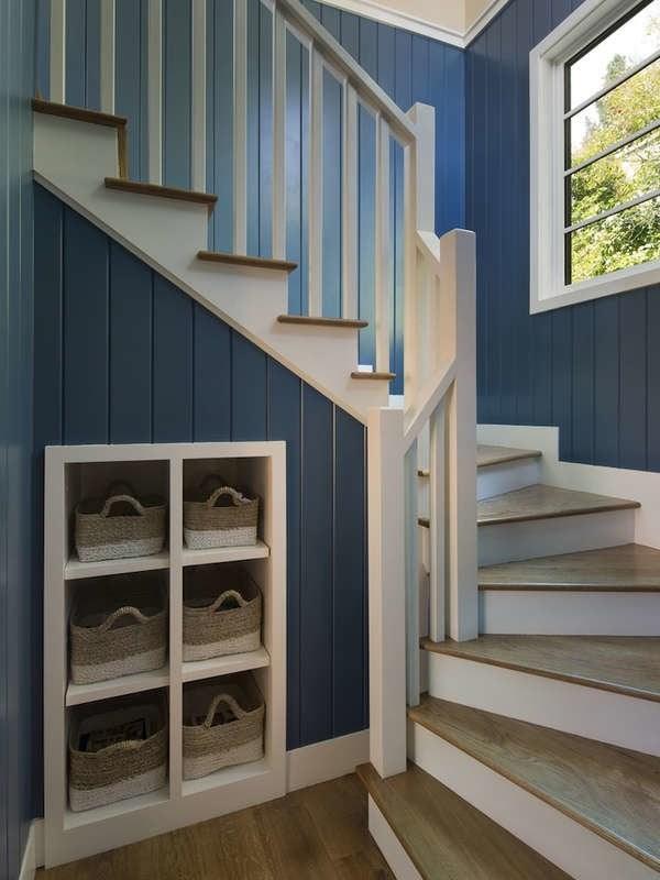 Under Stair Storage 17 Clever Ideas Bob Vila | Center Staircase House Plans | Georgian House | Spiral | Split | Room | Contemporary