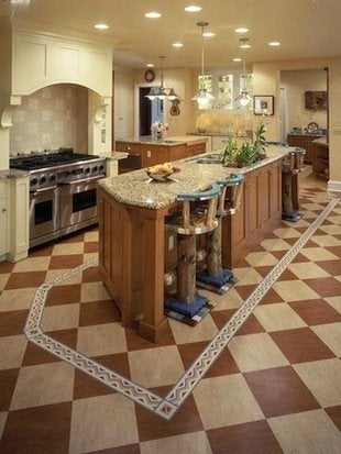 Rx press kits p1 linoleum flooring kitchen s3x4 lg