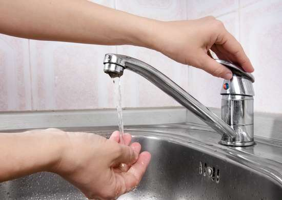 Leave Faucets Dripping to Prevent Frozen Pipes