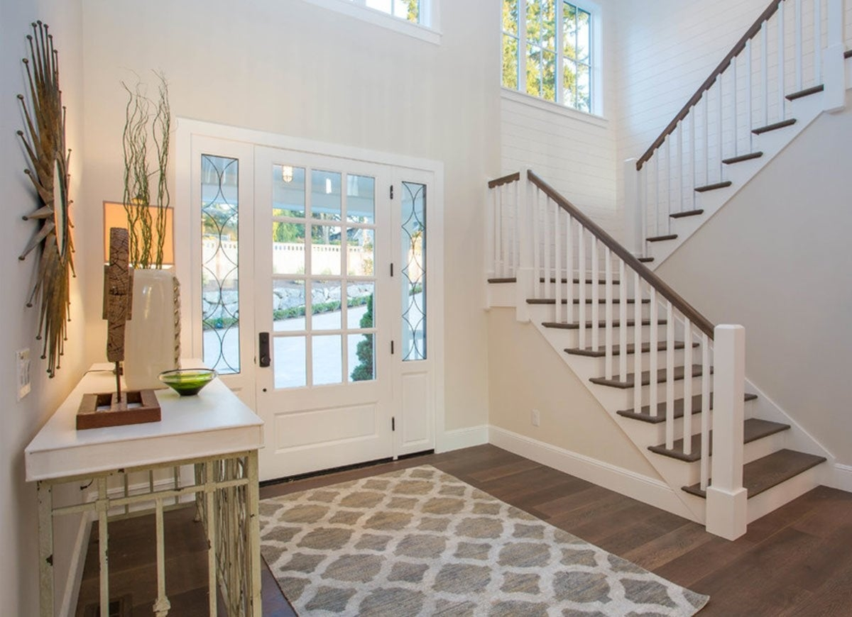 Front Entry Ideas 18 Entryways We Love Bob Vila | Stair Room Window Design | 3D Model | Smart Window Grill | Elegant | Landing | House Beautiful