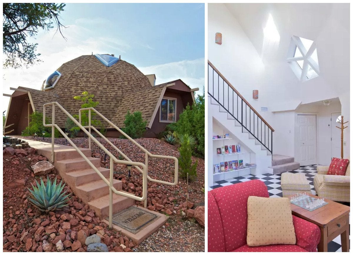 Best Kitchen Gallery: Geodesic Dome Homes 14 Houses That Are Anything But Square Bob Vila of Eco Friendly Dome Home on rachelxblog.com