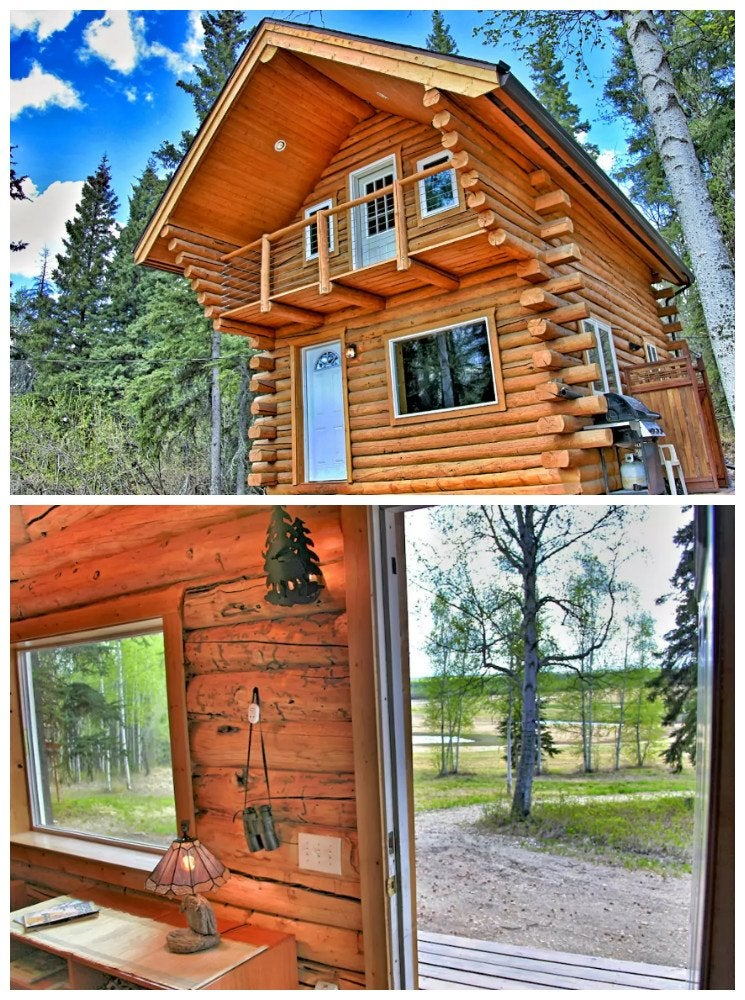 Two Story Log Cabin The 17 Best Log Cabins Bob Vila