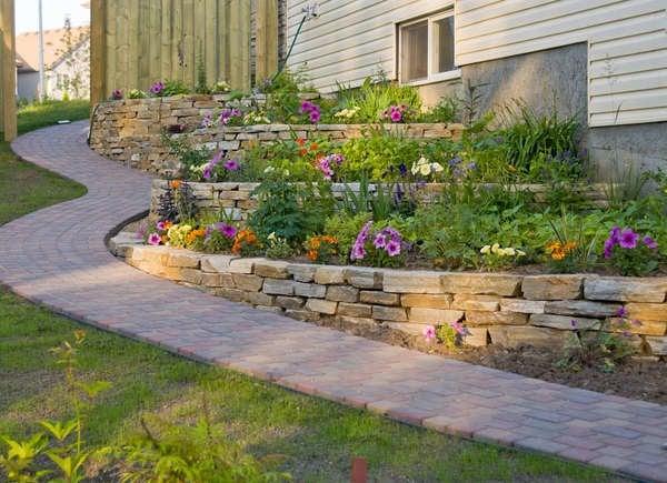 Backyard Slope Landscaping Ideas 10 Things To Do Bob Vila