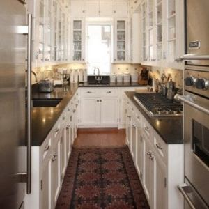 Galley Kitchen Design Ideas   16 Gorgeous Spaces   Bob Vila U Shaped Galley Kitchen