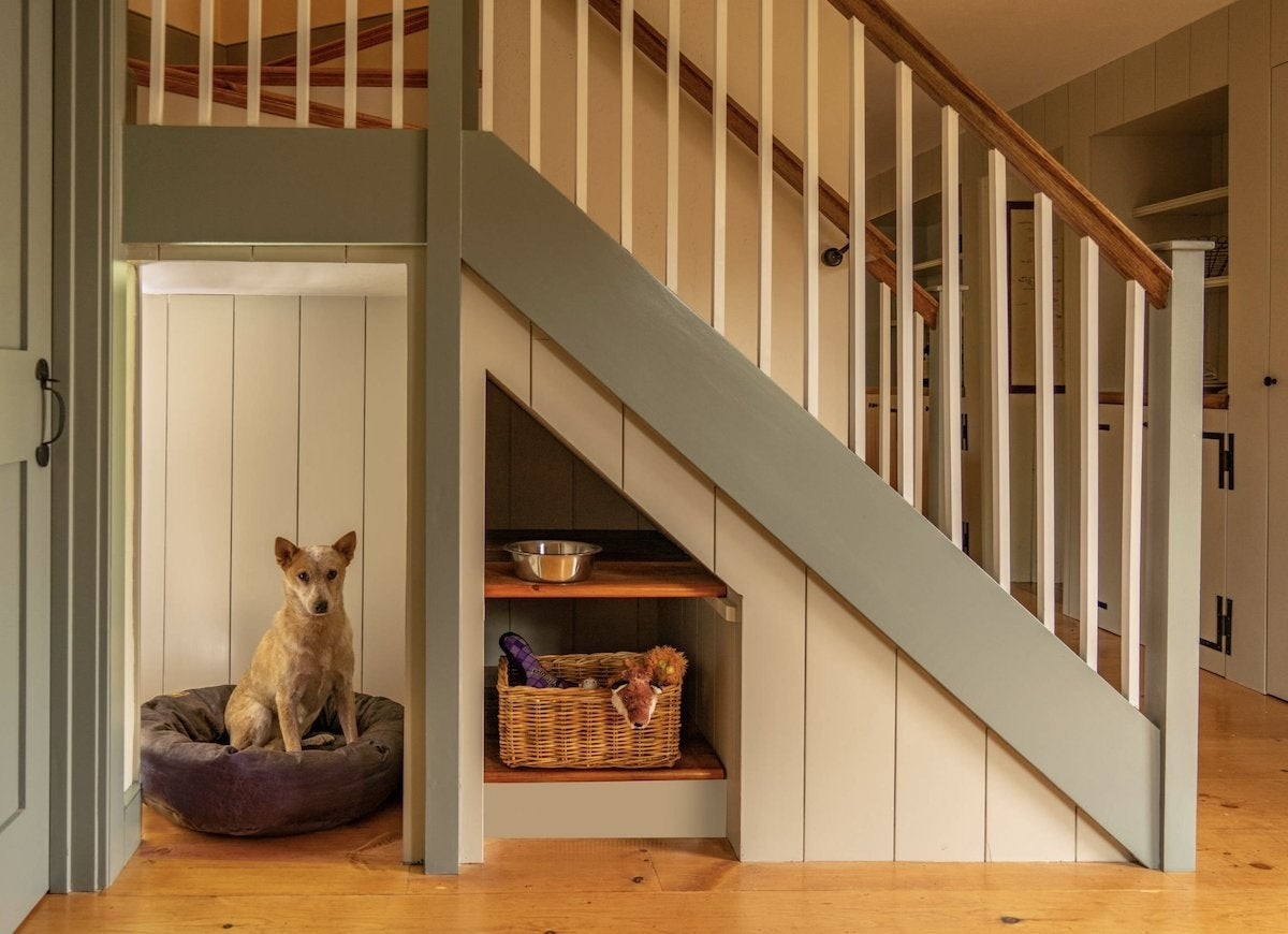 Under Stair Storage 17 Clever Ideas Bob Vila   Opening Up Staircase To Basement   Kitchen   Basement Remodel   Banister   Stairwell   Man Cave