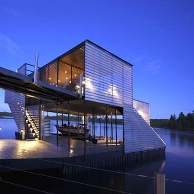 Modern Boathouse Boathouses 10 Quot See Worthy Quot Designs