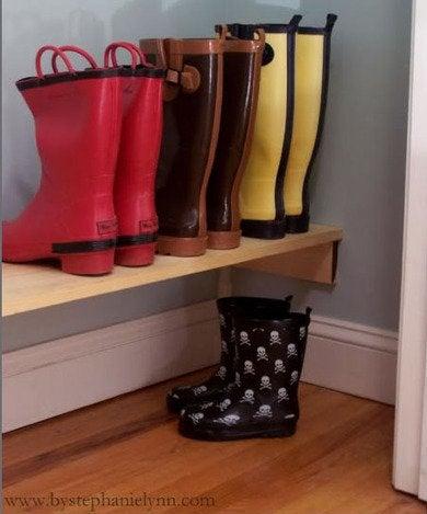 Boot Storage 11 Ways To Organize Winter Footwear Bob Vila