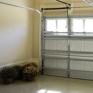 Garage Floor Ideas 8 Easy And Affordable Options Bob Vila | Carpet For Garage Stairs | Concrete | Stair Riser | Concrete Stairs | Stair Runner | Garage Floor