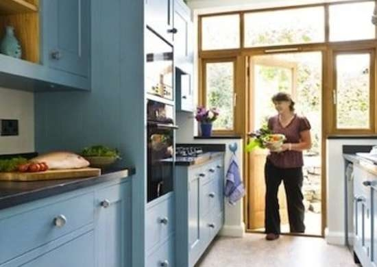 Galley Kitchen Design Ideas 16 Gorgeous Spaces Bob Vila | Small Kitchen Design Under Stairs | Stair Storage | Dining Room | Basement Kitchenette | Space Saving | Small Spaces