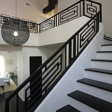 Staircase Railing 14 Ideas To Elevate Your Home Design Bob Vila   Contemporary Banisters And Handrails   Outdoor Stair   Glass   Picket   Rustic   Traditional