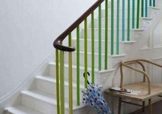 Staircase Railing 14 Ideas To Elevate Your Home Design Bob Vila | Designs Of Stairs Inside Small House | Stone Tiles | Decorating Ideas | Stair Treads | Space | Staircase Makeover