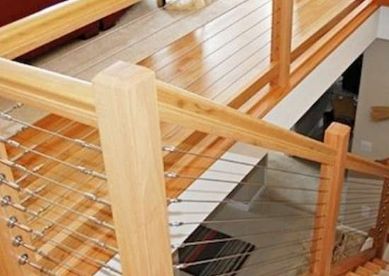 Staircase Railing 14 Ideas To Elevate Your Home Design Bob Vila | Diy Wood Stair Railing | Diy Unique | Cable | Cast Iron Pipe | Wood Frame | Easy