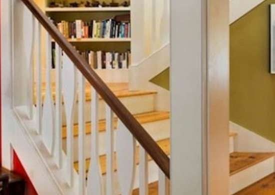 Staircase Railing 14 Ideas To Elevate Your Home Design Bob Vila   Tubular Design For Stairs   Finished   Minimalist   Decorative Wood Railing   Contemporary   Home Tower