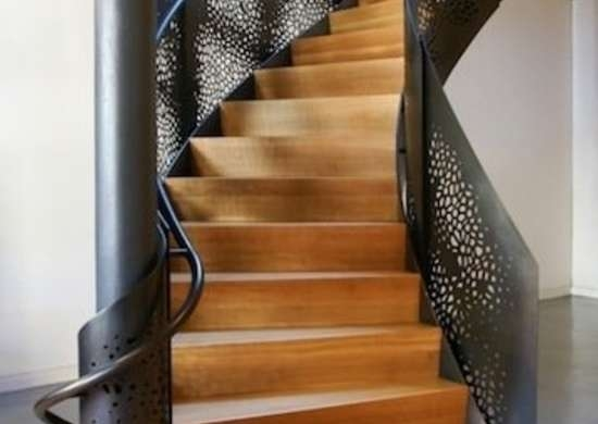 Staircase Railing 14 Ideas To Elevate Your Home Design Bob Vila   Metal Railing With Wood Handrail   Cable Railing   Wrought Iron Balusters   Stainless Steel Railing   Deck Railing   Carpeted Stairs