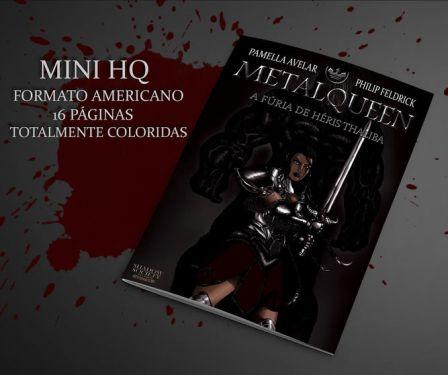 revista-metalqeen Catarse | Metalqueen: Série animada e HQ sobre o poder feminino e a intolerância religiosa