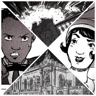 ccxp_estellavic_imagem2 Catarse | Em HQ ambientada na Semana de Arte Moderna de 1922, repórter tenta deter explosão em Manifesto Futurista