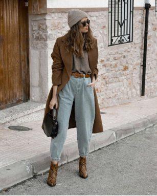 Volvieron los jeans de los años '80: temporada de slouchy