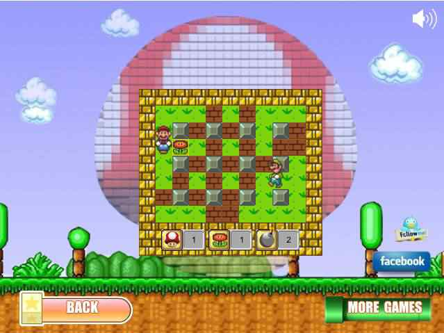 Toca dos Jogos - Super Mario Bomberman