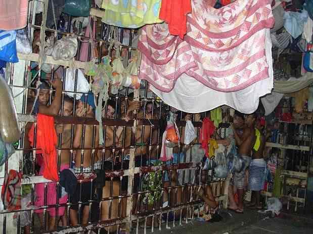 Cadeia no Brasil é assim