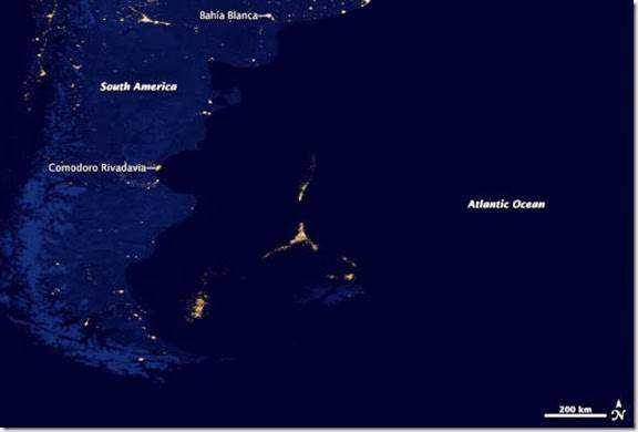 Mysterious Lights Argentina Atlantic Ocean