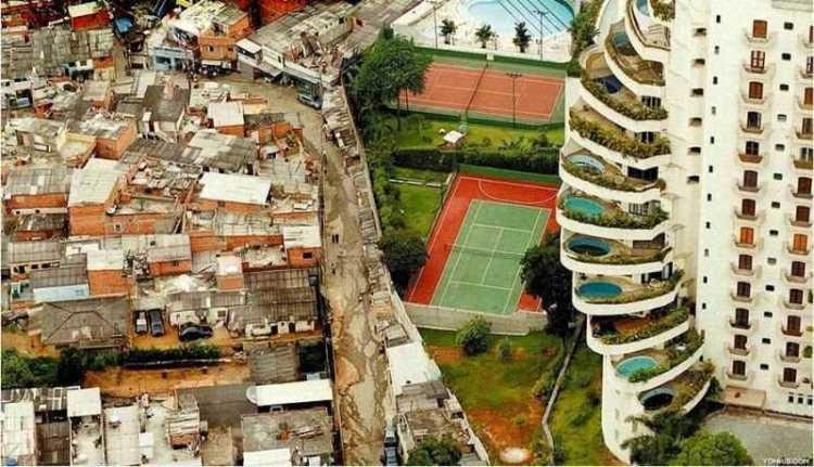 O retrato da desigualdade social