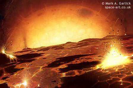 Gigante engole exoplaneta 3