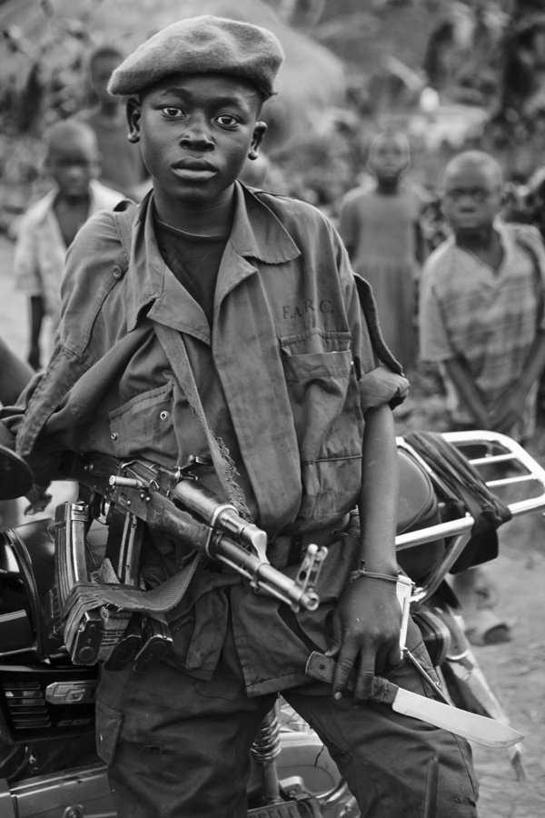 Mayi Mayi Child Soldiers