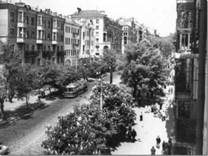 Calle Ejército Rojo. 1961. Autor A. Lysenko