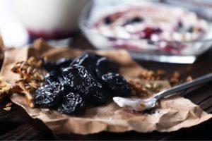 Geléia de ameixas pretas da Catia para regular o intestino