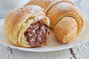 Croissant de chocolate da Catia