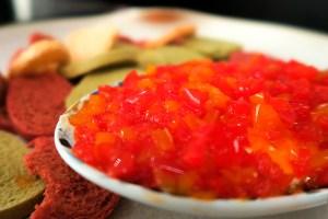 Antepasto agridoce de pimentão por Cecilia Padilha