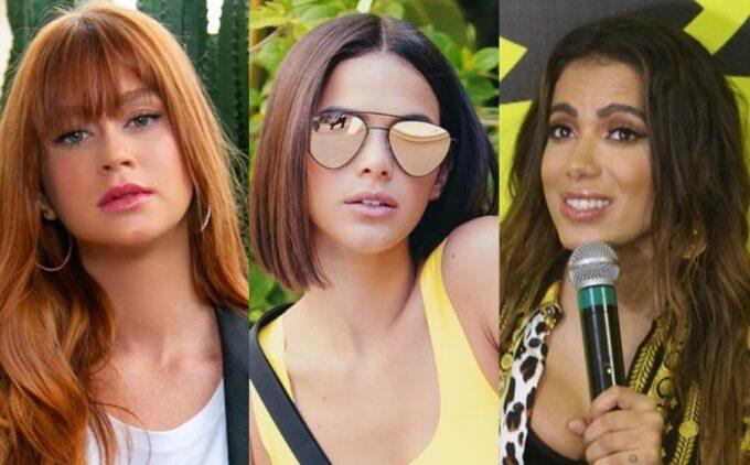 Coluna dos Famosos: Marina Ruy Barbosa se junta com rival de Bruna Marquezine e Preta Gil manda recado para Anitta