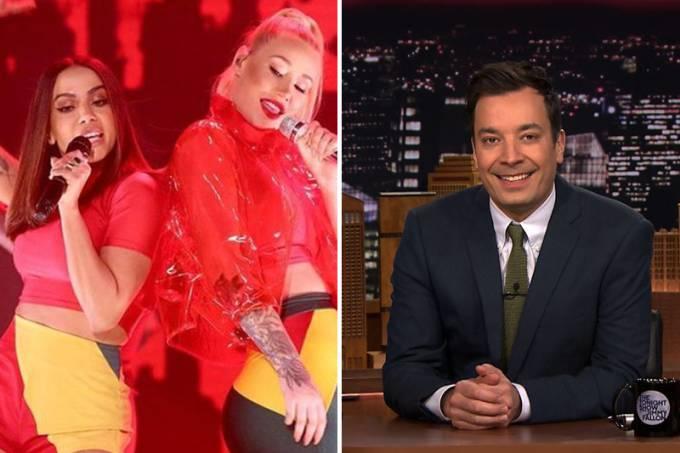 Barraco! Iggy Azalea tentou sabotar Anitta em programa americano, mas cantora a confrontou