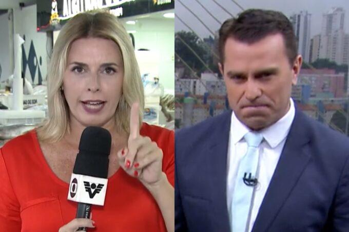 """Repórter da Globo oferece um namorado a Rodrigo Bocardi e ele surpreende com a resposta: """"Já tenho dois"""""""