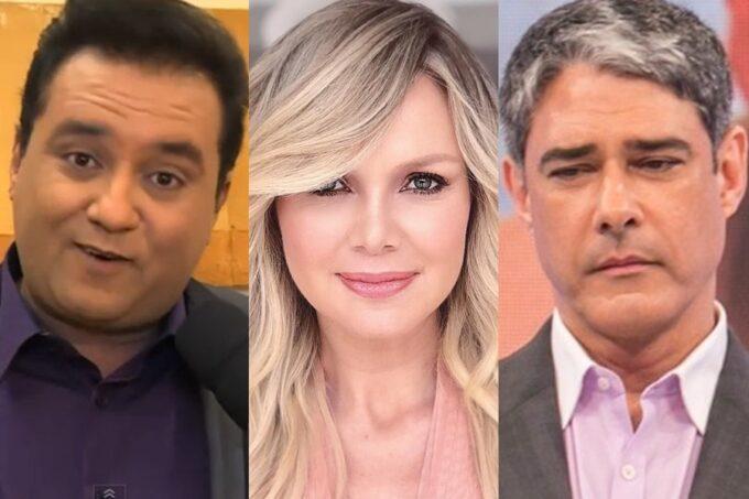 William Bonner rompe com a Globo, Eliana volta para a Record e Geraldo Luís vai para o SBT, revela sensitiva
