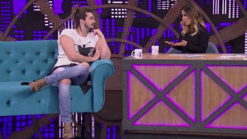 Na Globo, Luan Santana é flagrado aos beijos com Tatá Werneck e situação repercute