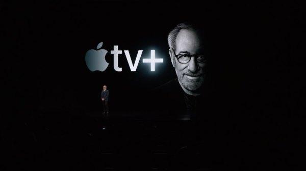 Steven Spielberg voor Apple TV Plus