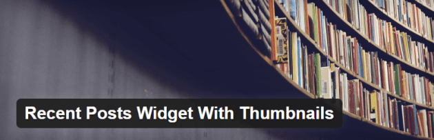 The Recent Posts Widget With Thumbnails Plugin.