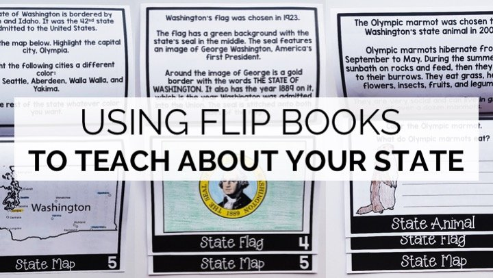 Using Flip Books to Teach About Your State